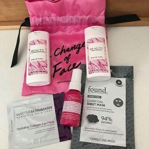 Sephora Bag of Hair Care Facial Mask Collagen Pads